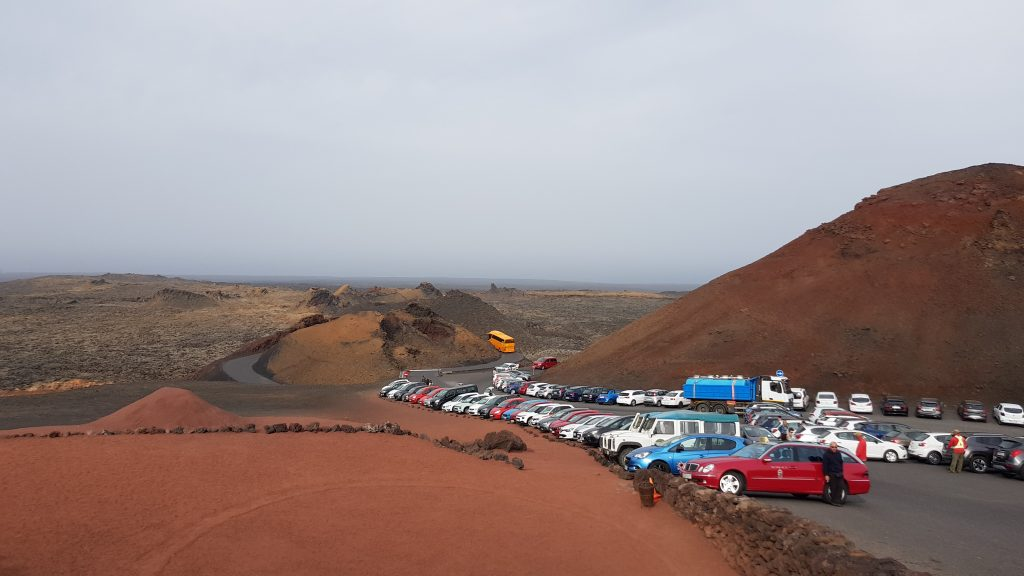 Timanfaya National Park tour by coach