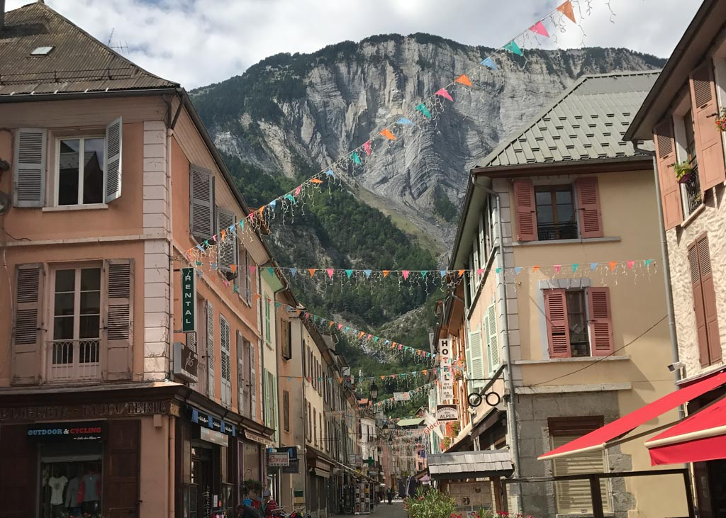 Amazing places in south of France - Bourg d'Oisans