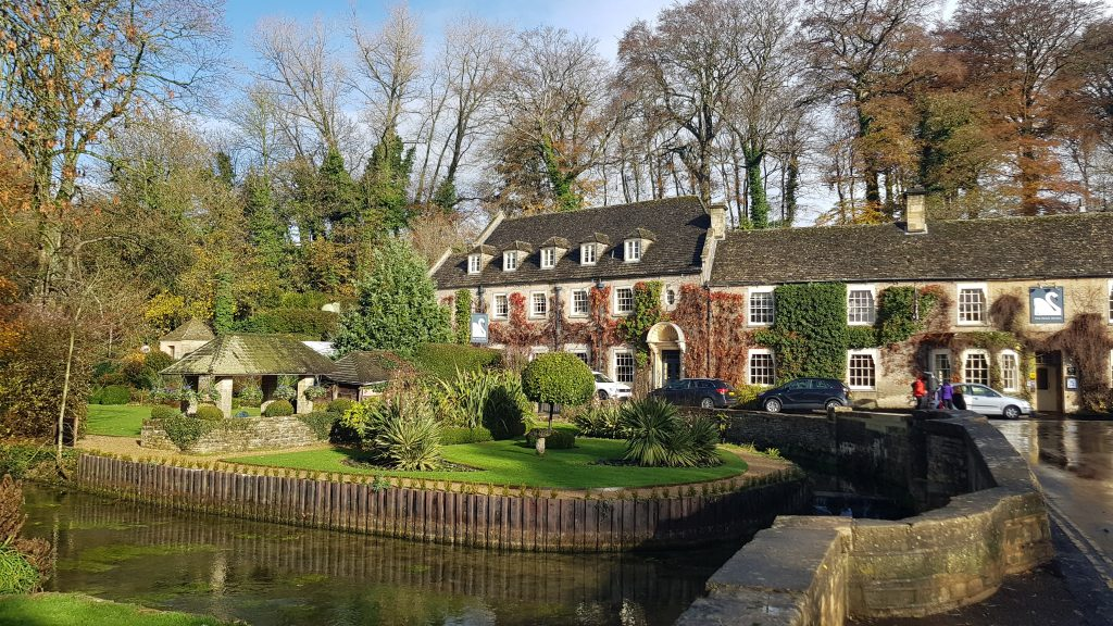 Beautiful villages in England - Bibury, Gloucestershire