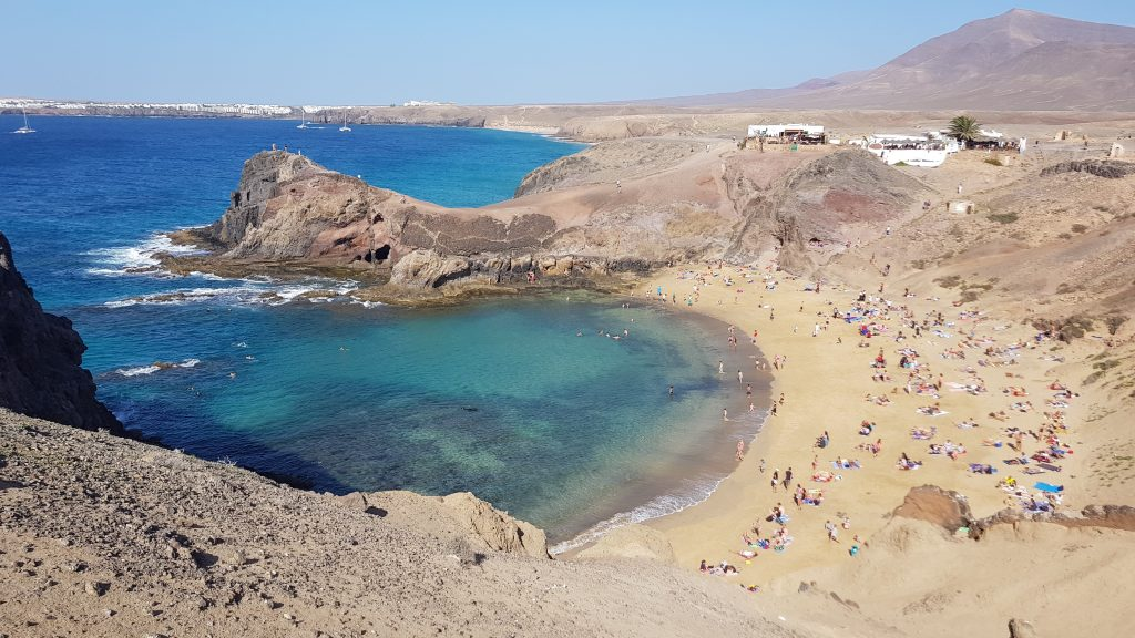 Best beaches in Spain - Papagayo Beach - Lanzarote