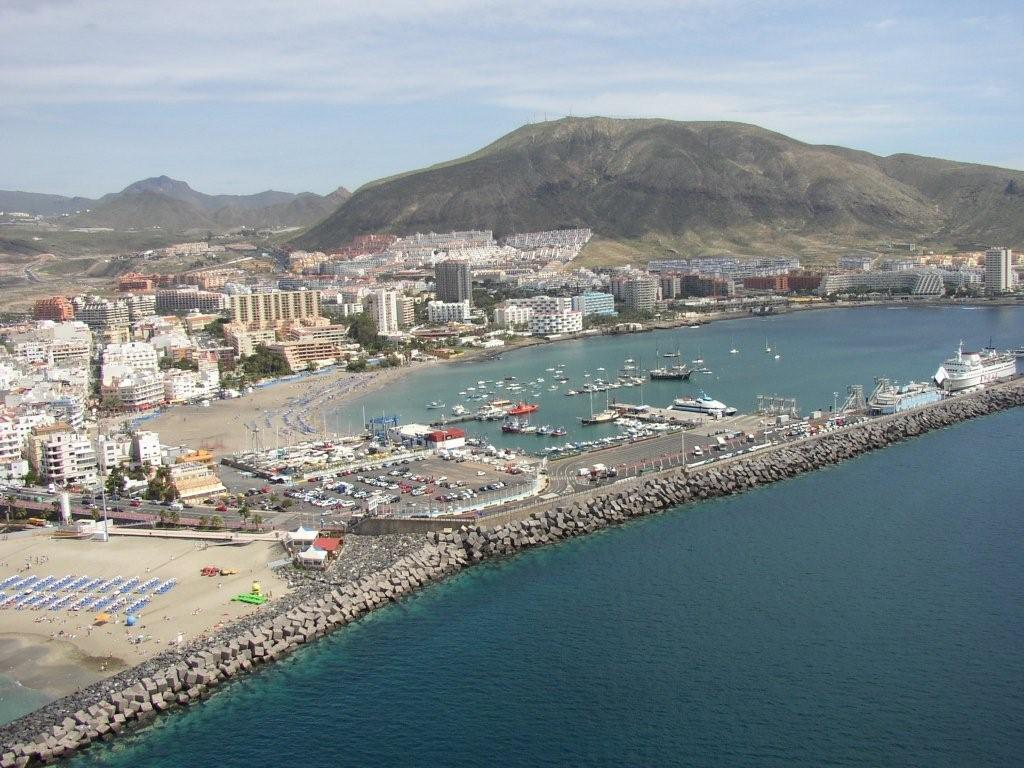 Best beaches in Spain - Playa de Los Cristianos - Tenerife