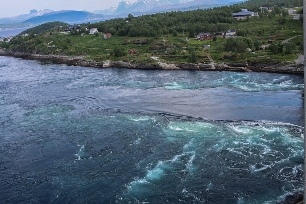 Natural wonders in Europe - Saltstraumen Maelstrom in Norway