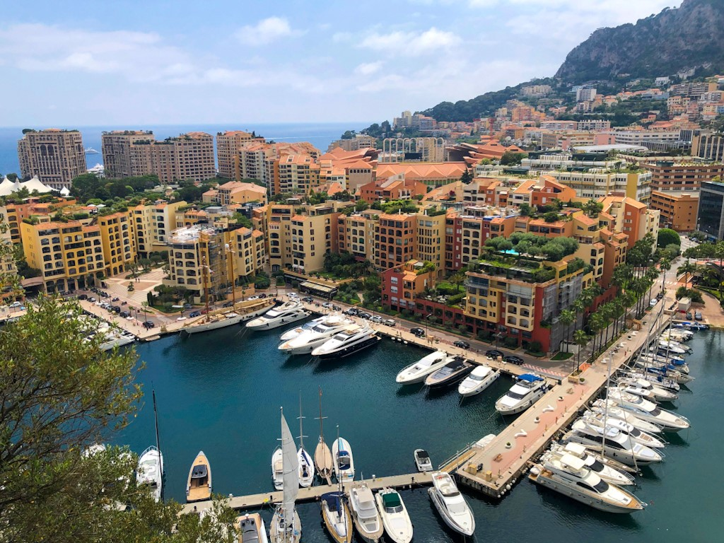 Places in south of France - Monaco