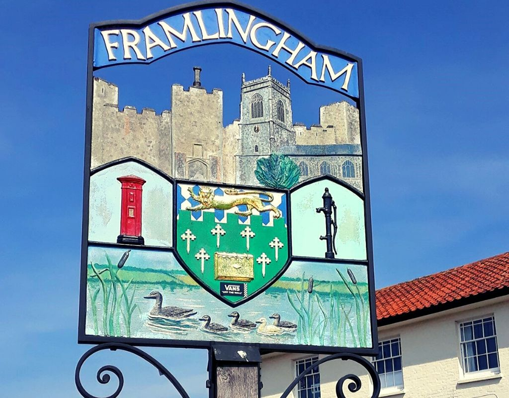 Prettiest villages in England - Framlingham