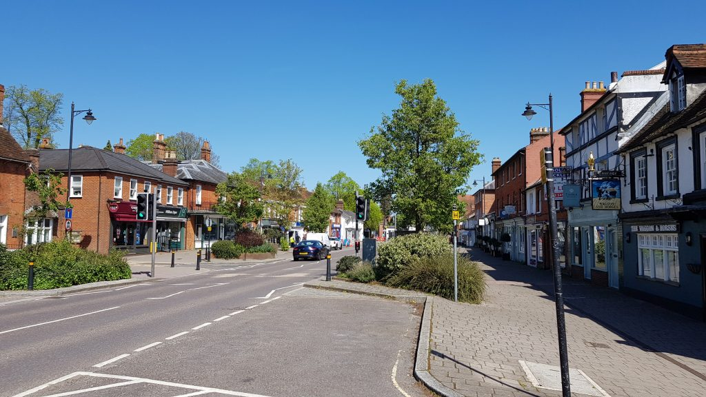 Prettiest villages in England - Hartley Wintney