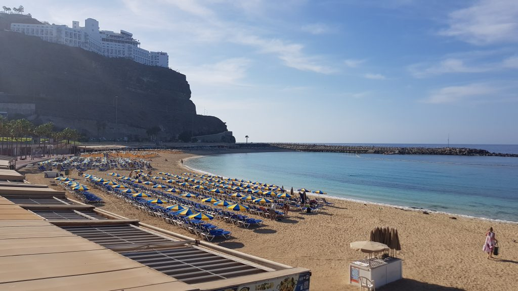 Spanish best beaches - Amadores Beach - Gran Canaria