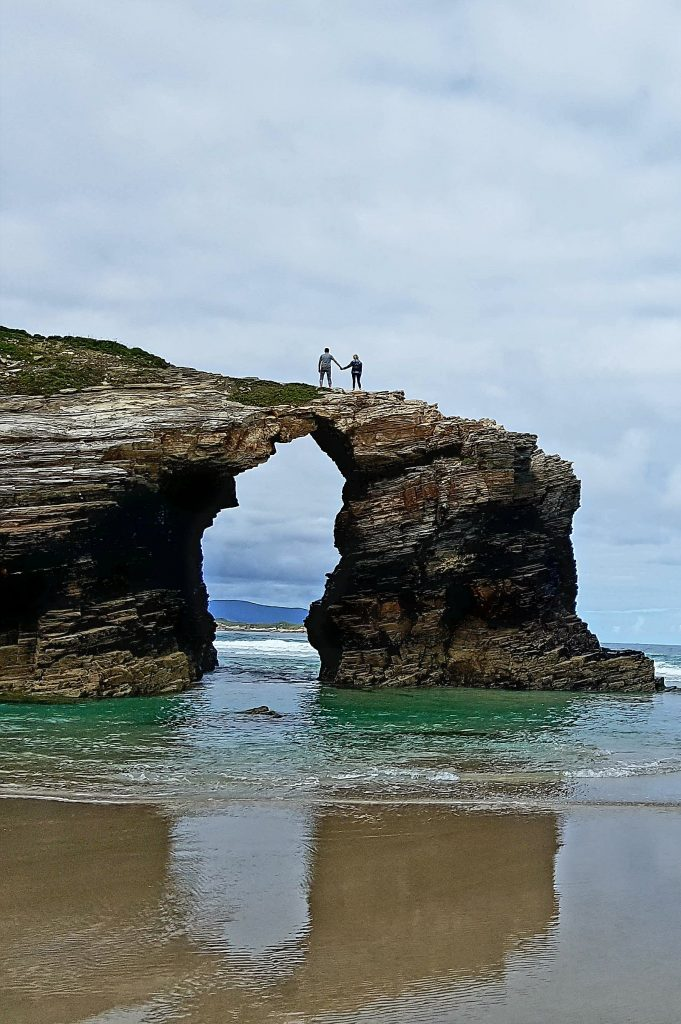 Spanish best beaches - As Catedrais Beach - Galicia