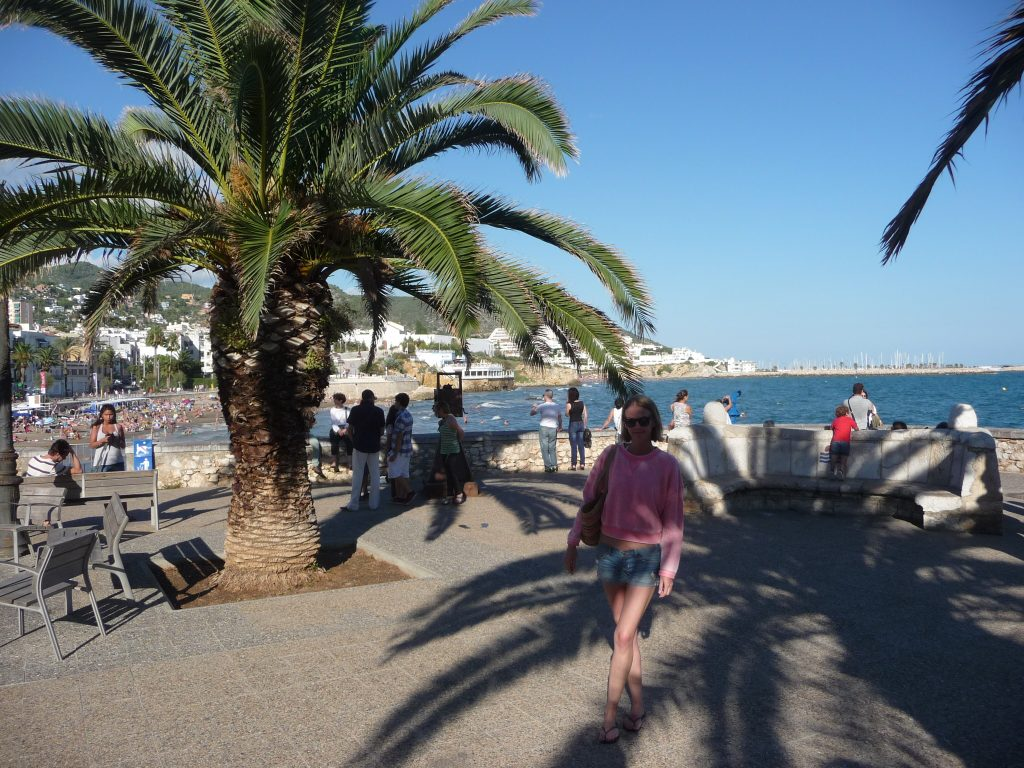 Spanish best beaches - Sitges Beach