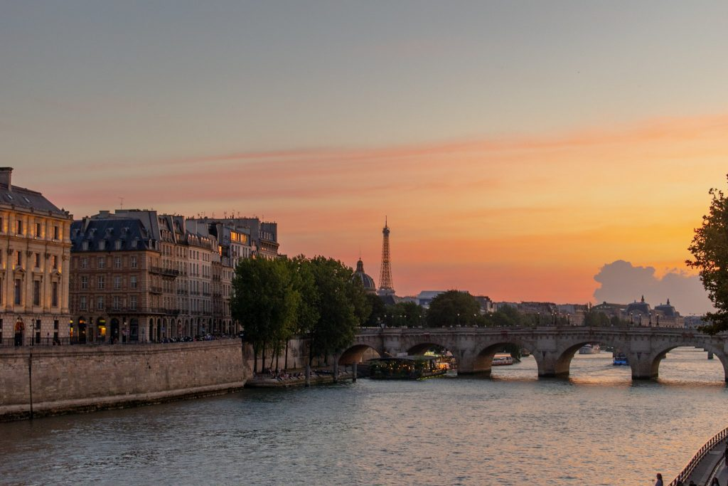 Best UNESCO sites in Europe - Paris, Banks of the Seine, France