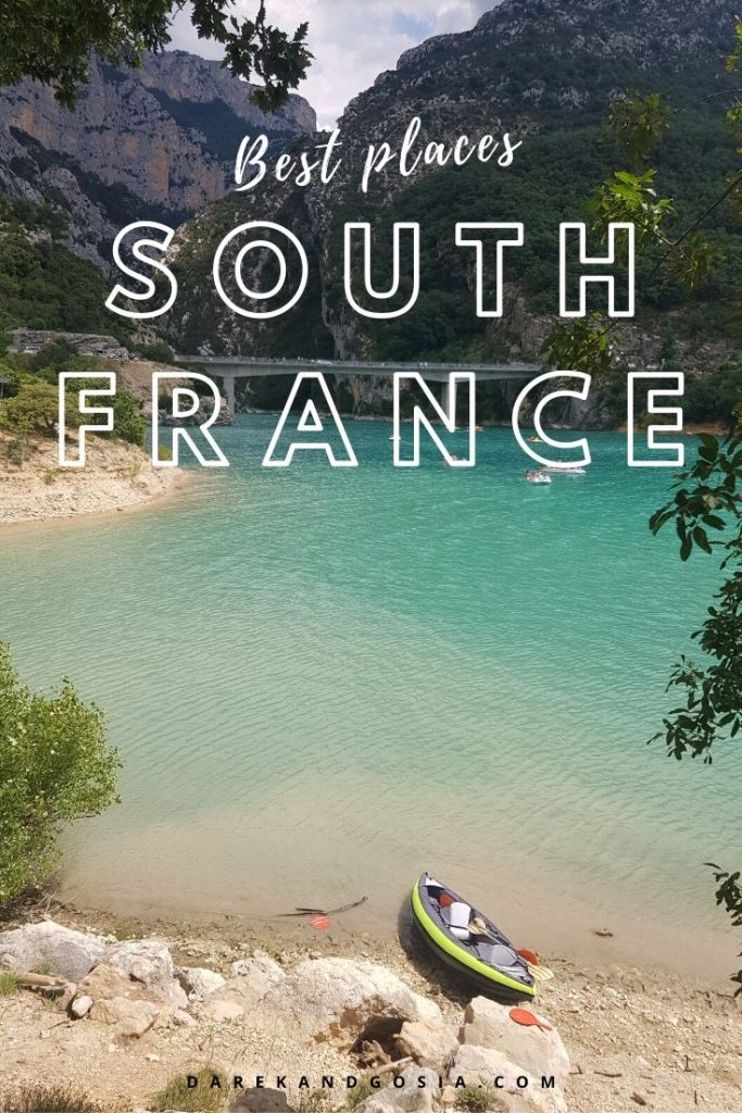 Best places to visit south of France