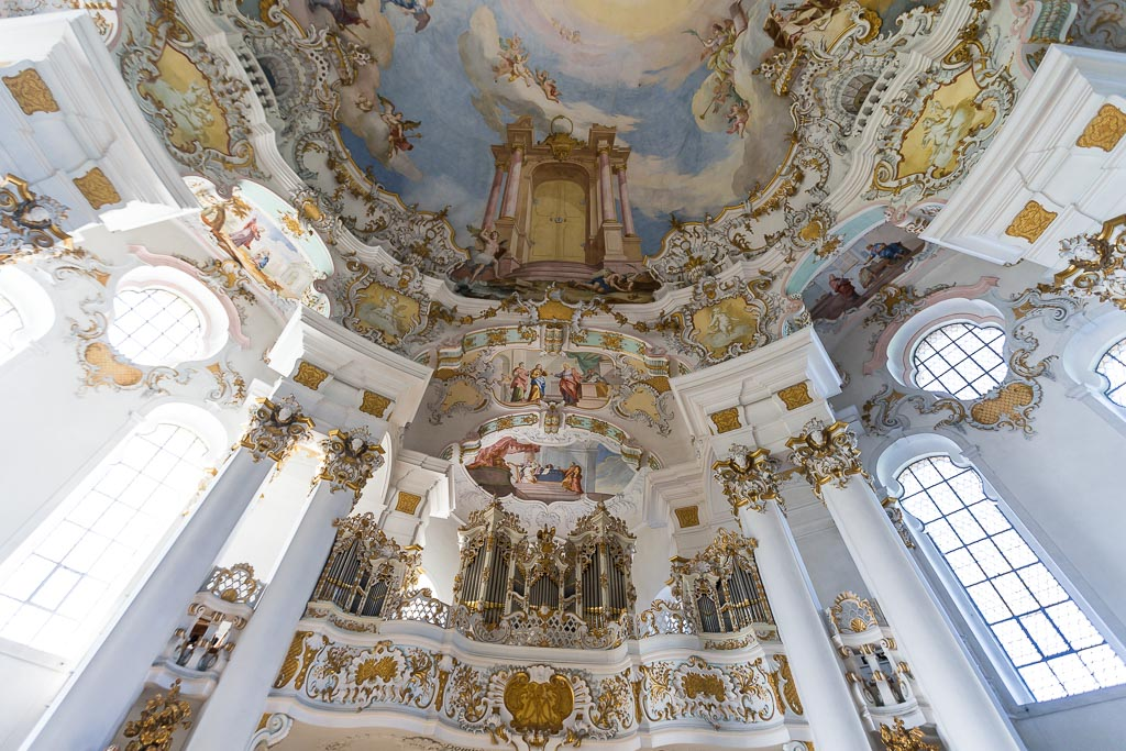 Churches of Europe - Pilgrimage Church of Wies - Steingaden, Germany