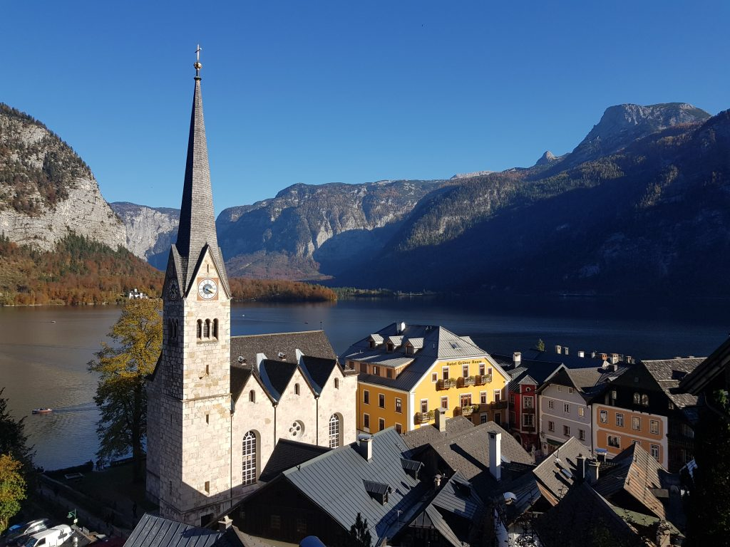 Famous churches in Europe - Lutheran Church - Hallstatt, Austria