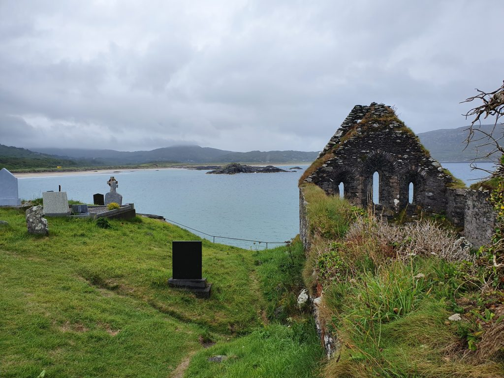 Most beautiful European churches - Ruins of Ahamore Abbey - Ring of Kerry, Ireland