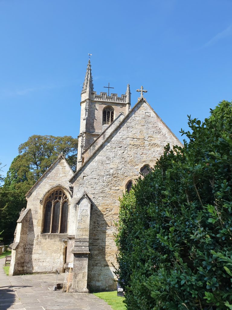 Most beautiful European churches - St Andrew's Church - Castle Combe, England