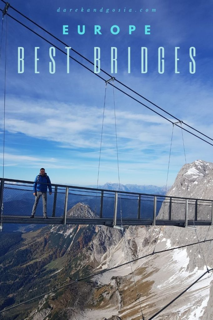 Most beautiful bridges in Europe