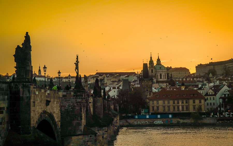 Most beautiful bridges in Europe - Charles Bridge - Prague, Czech Republic