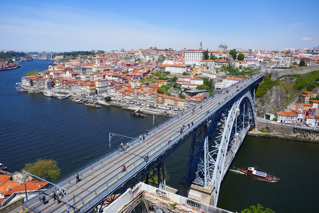 Most beautiful bridges in Europe - Dom Luís I Bridge - Porto, Portugal