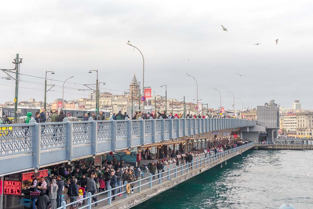 Most beautiful bridges in Europe - Galata Bridge - Istanbul, Turkey