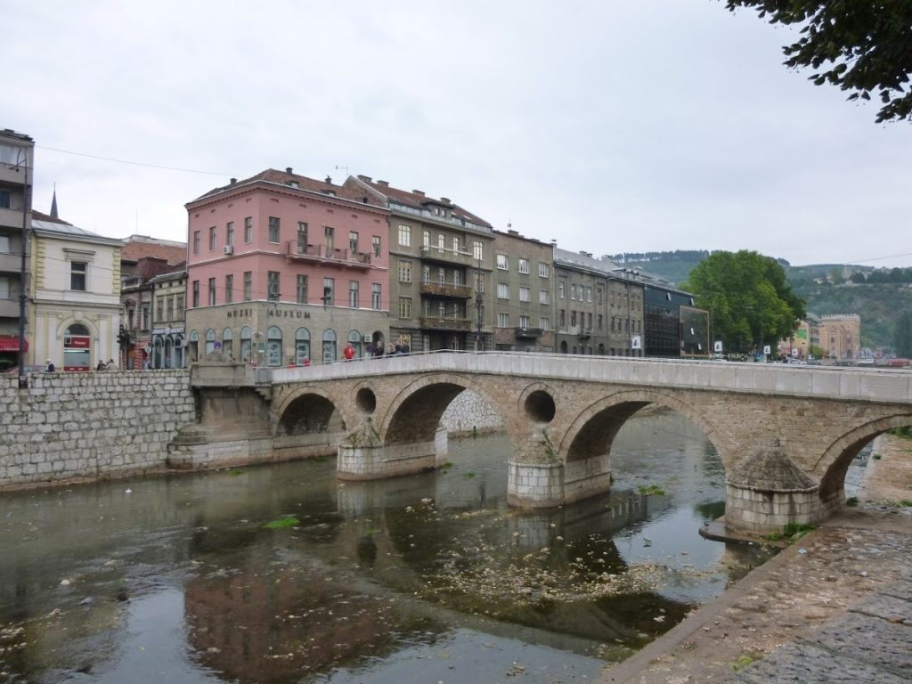 Most beautiful bridges in Europe - Latin Bridge - Sarajevo, Bosnia and Herzegovina