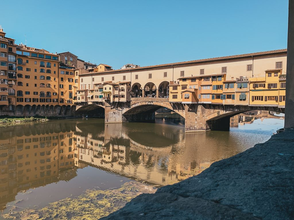 Most beautiful bridges in Europe - Ponte Vecchio - Florence, Italy