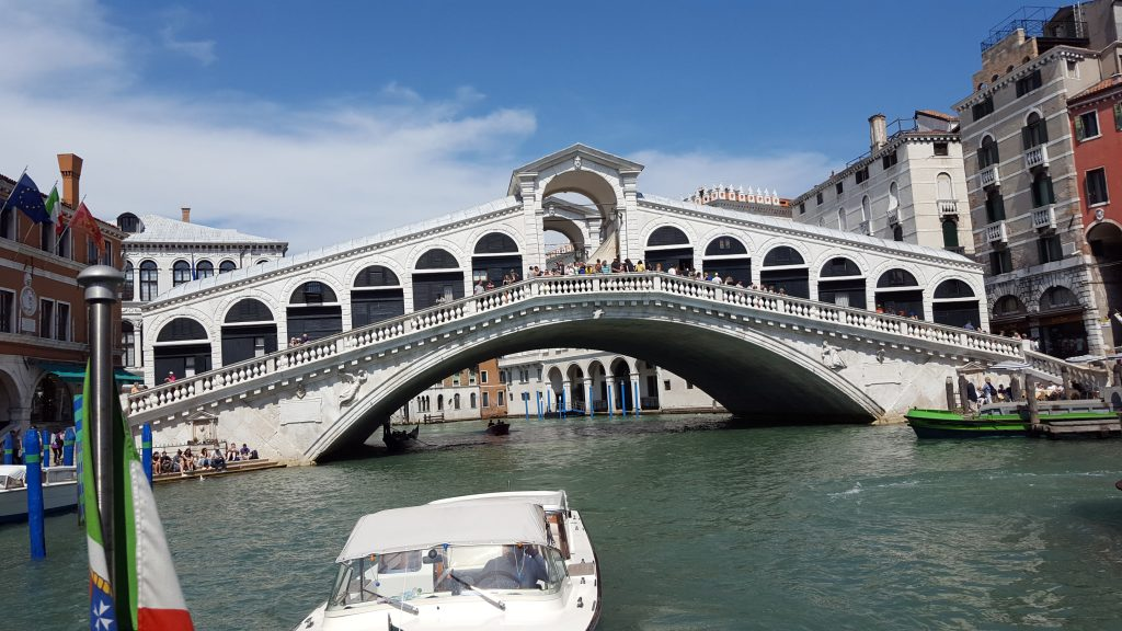 Most beautiful bridges in Europe - Rialto Bridge - Venice, Italy