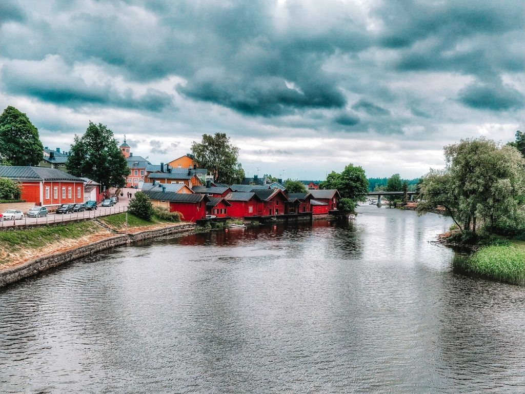Most beautiful towns in Europe - Porvoo, Finland