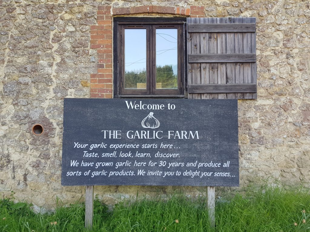 Things to do Isle of Wight The Garlic Farm