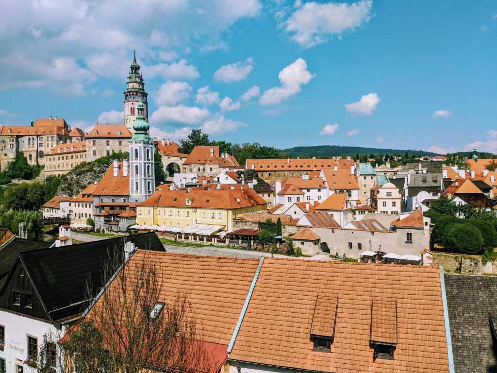 UNESCO sites in Europe - Historic Centre of Český Krumlov, Czech Republic