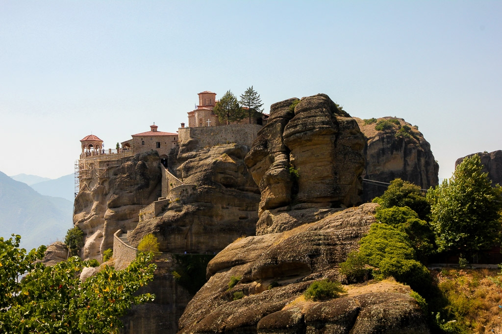 UNESCO sites in Europe - Meteora Monasteries, Greece