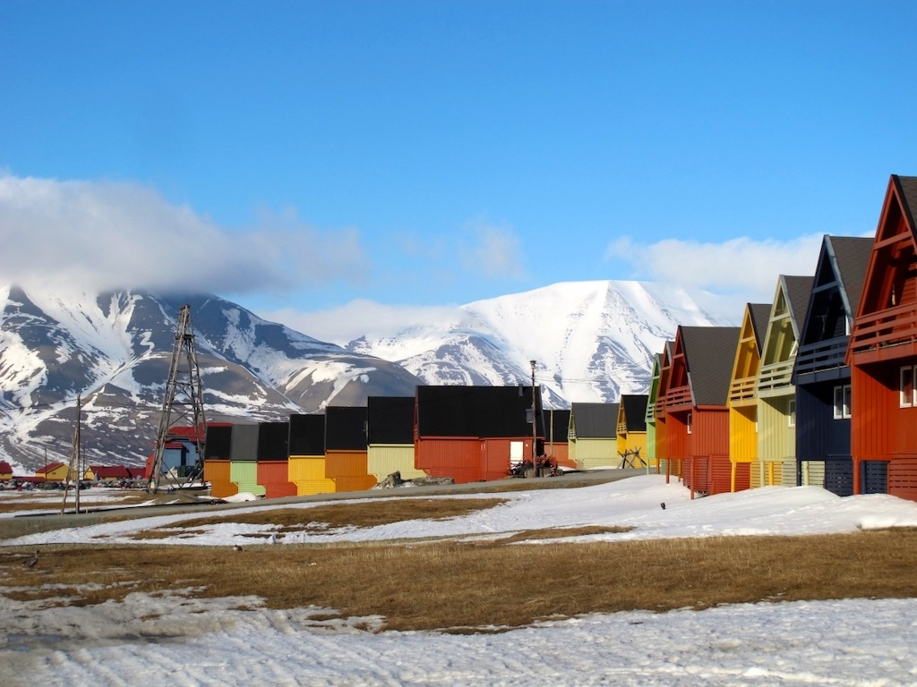 Best towns to visit Europe - Longyearbyen, Svalbard