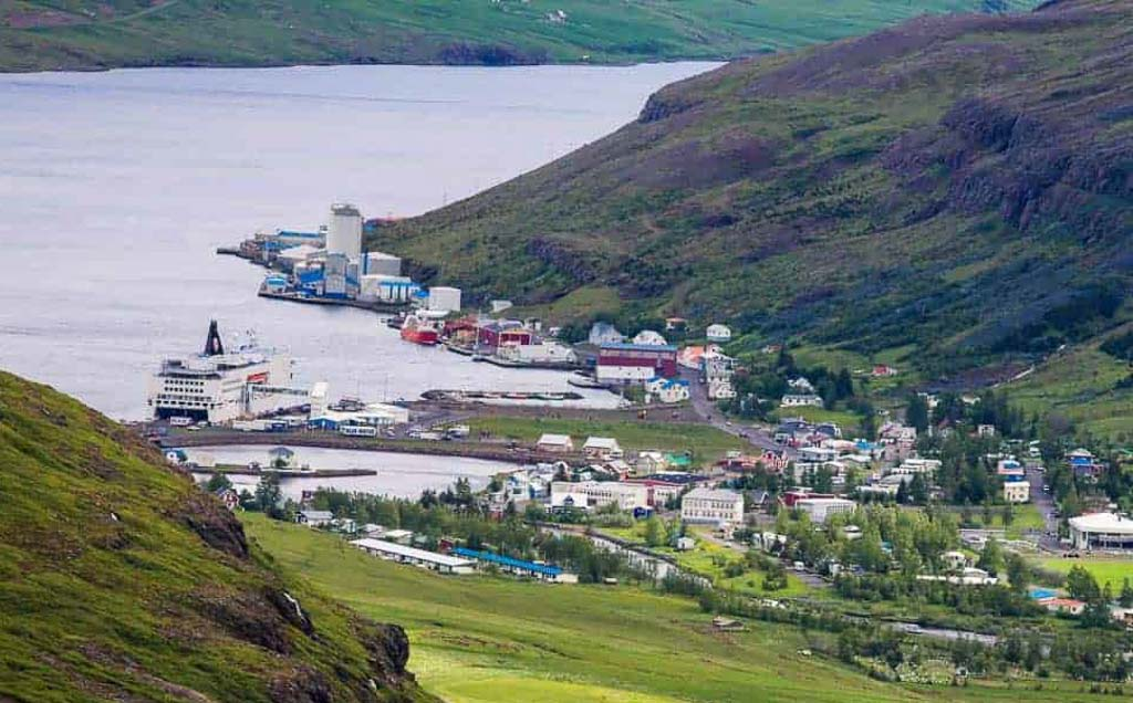 Best towns to visit Europe - Seydisfjordur, Iceland