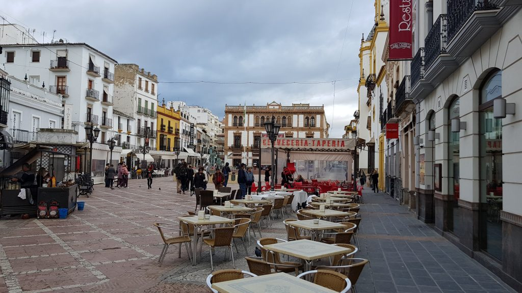 Most beautiful squares in Europe - Plaza Del Socorro, Ronda