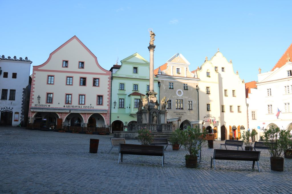 Most beautiful squares in Europe - Town Square, Český Krumlov