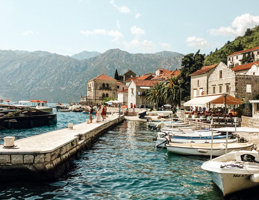 Most beautiful towns in Europe - Perast, Montenegro