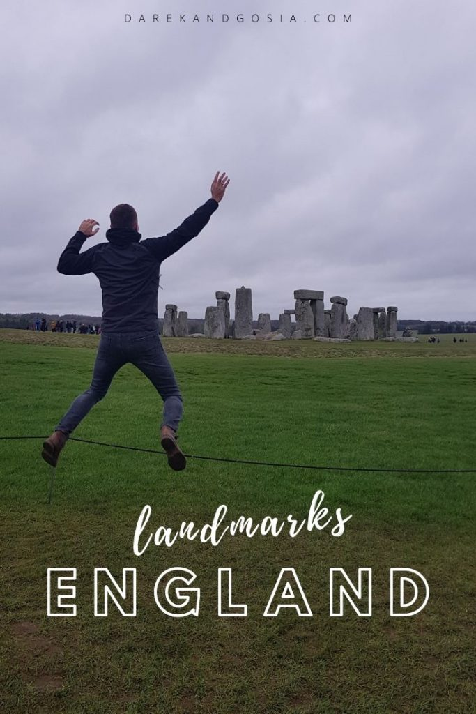 Most famous landmarks in England