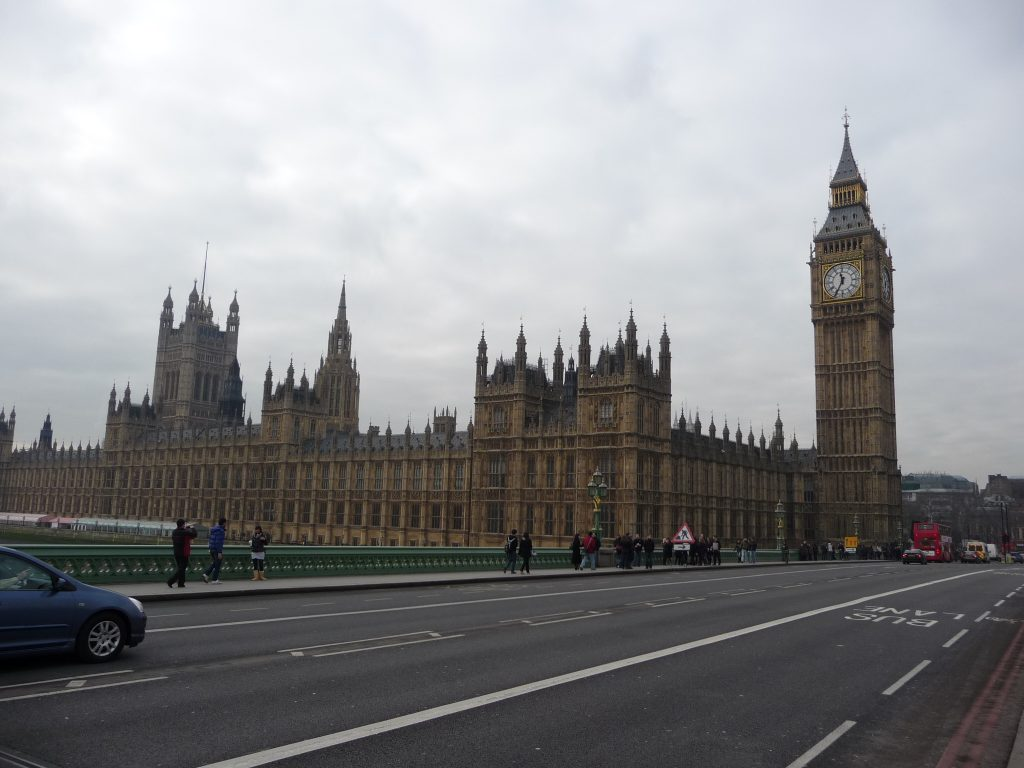 Most famous landmarks in England - Big Ben