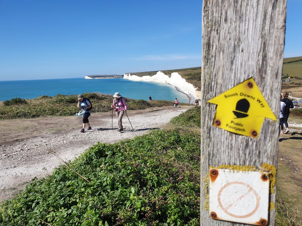 Most famous landmarks in England - Seven Sisters Cliffs