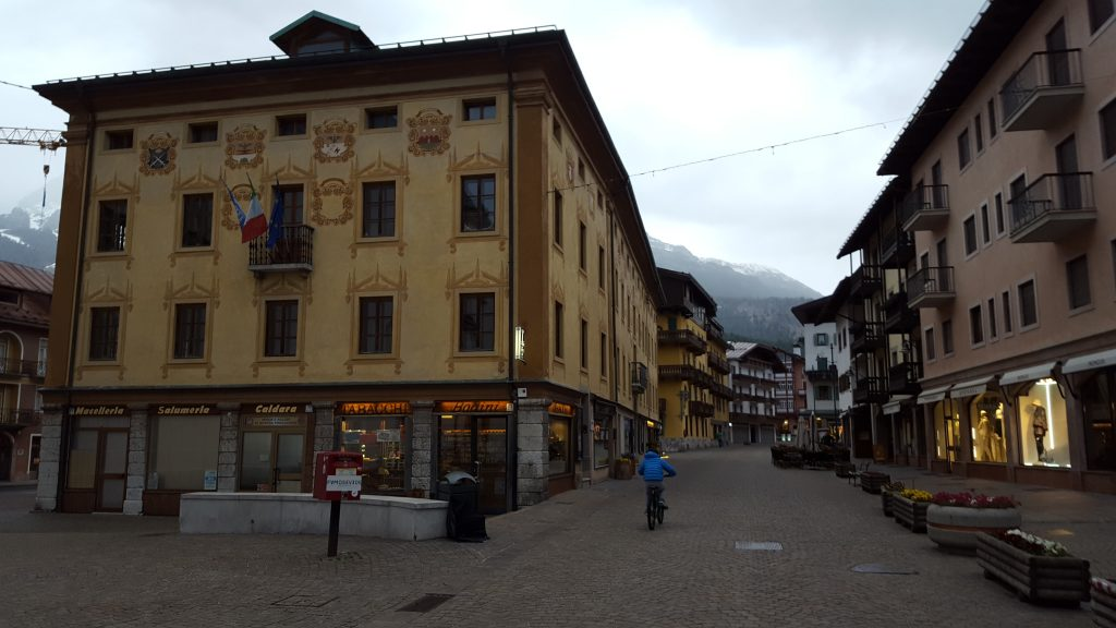 Prettiest squares in Europe - Main Square, Cortina d'Ampezzo