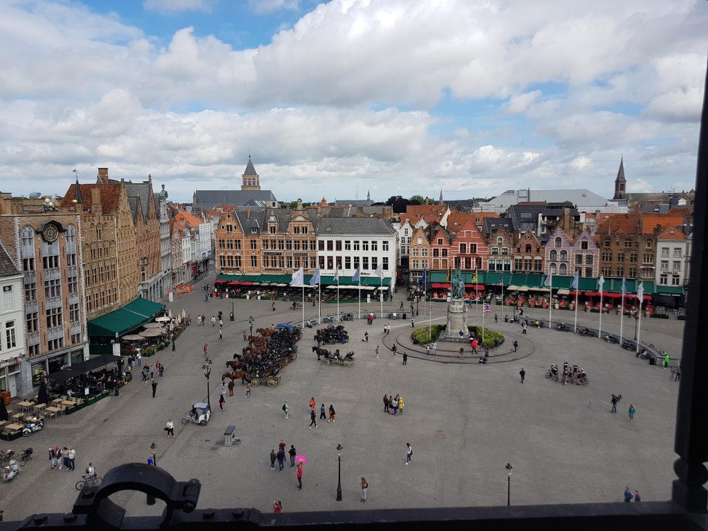 Prettiest squares in Europe - Markt, Bruges