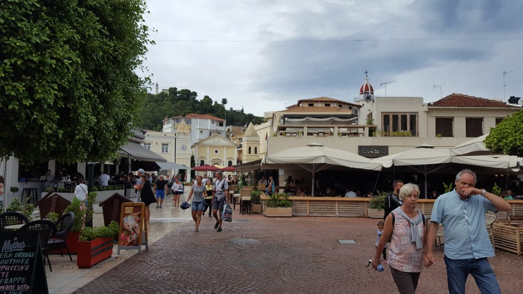 Prettiest squares in Europe - Town Square, Zante
