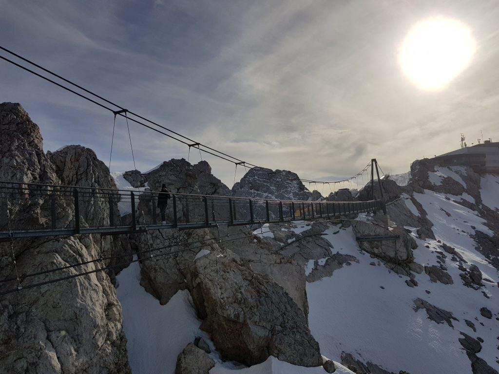 The best sunset spots in Europe - Suspension Bridge In Ramsau Am Dachstein, Austria
