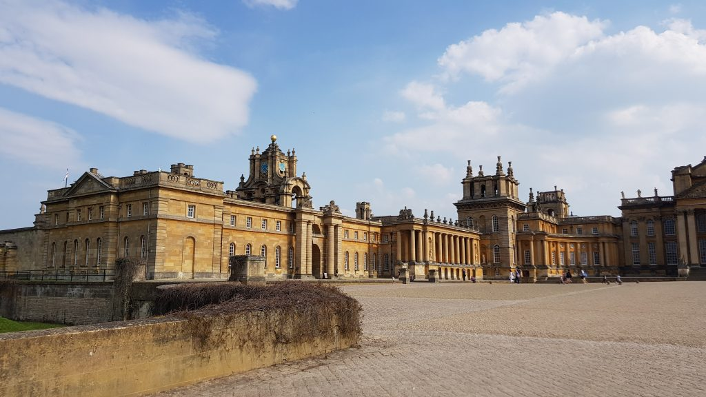 Traditional British landmarks - Blenheim Palace