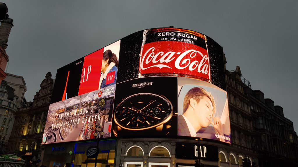 Traditional British landmarks - Piccadilly Circus