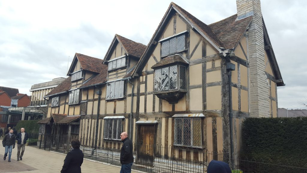 Traditional British landmarks - Shakespeare's Birthplace