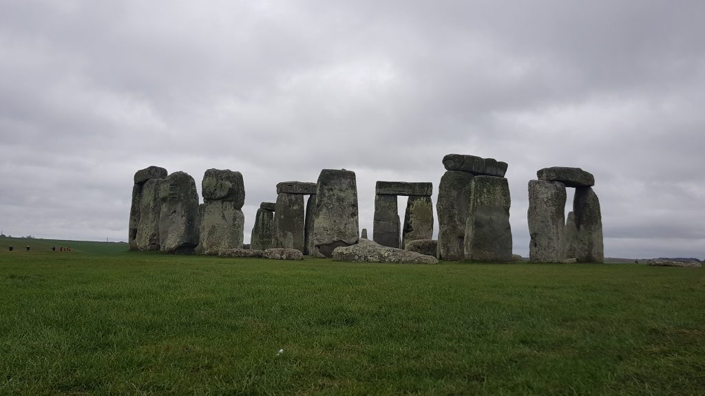 Traditional British landmarks - Stonehenge