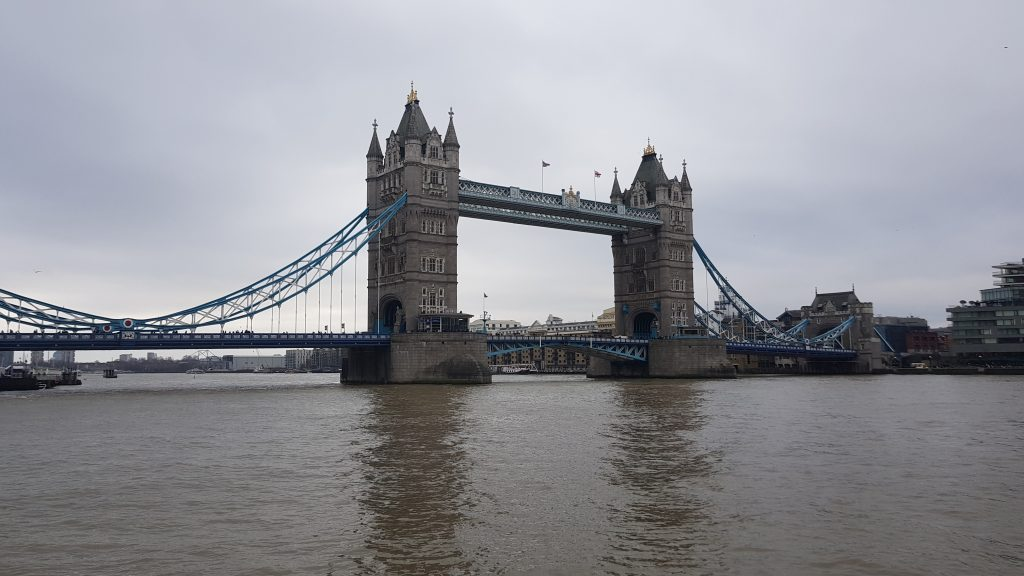Traditional British landmarks - Tower Bridge