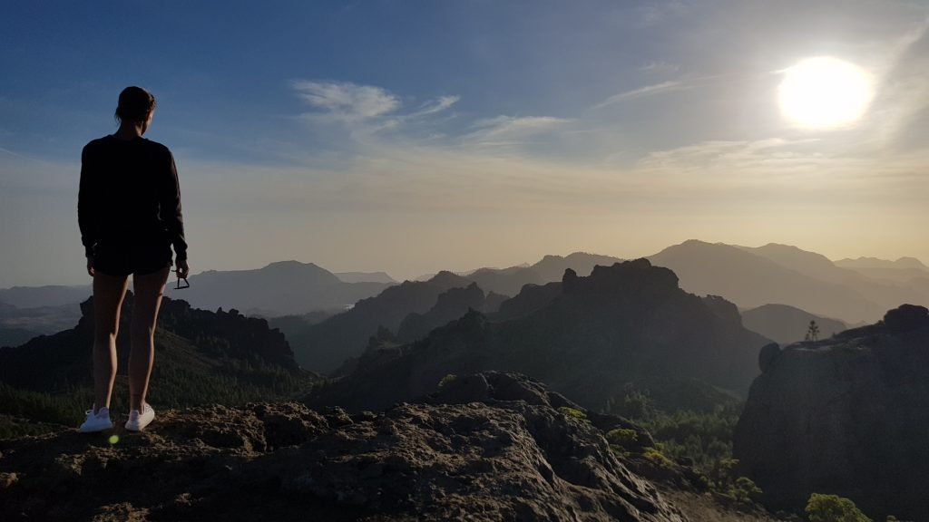 Where to find the most beautiful sunsets in Europe - Roque Nublo, Gran Canaria