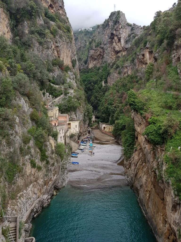 Which is the most beautiful village in Europe - Furore village, Italy