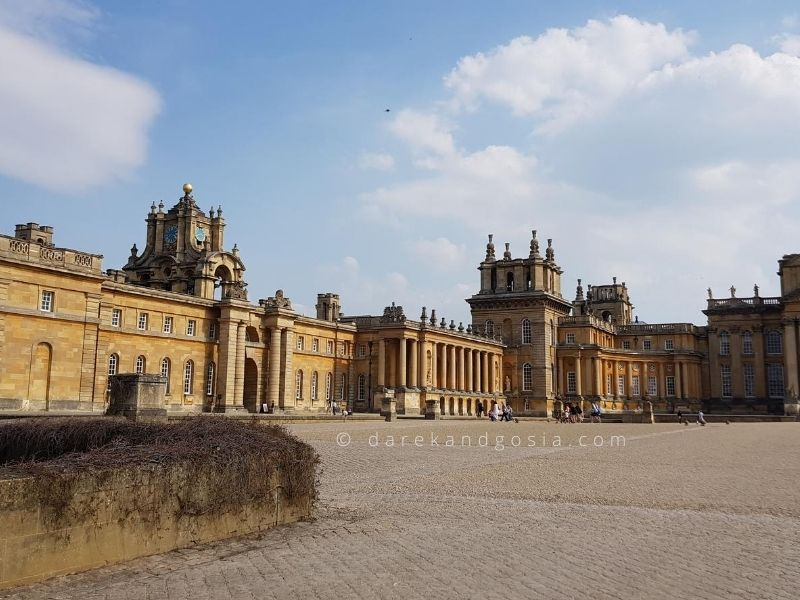 Best places to visit near London - Blenheim Palace