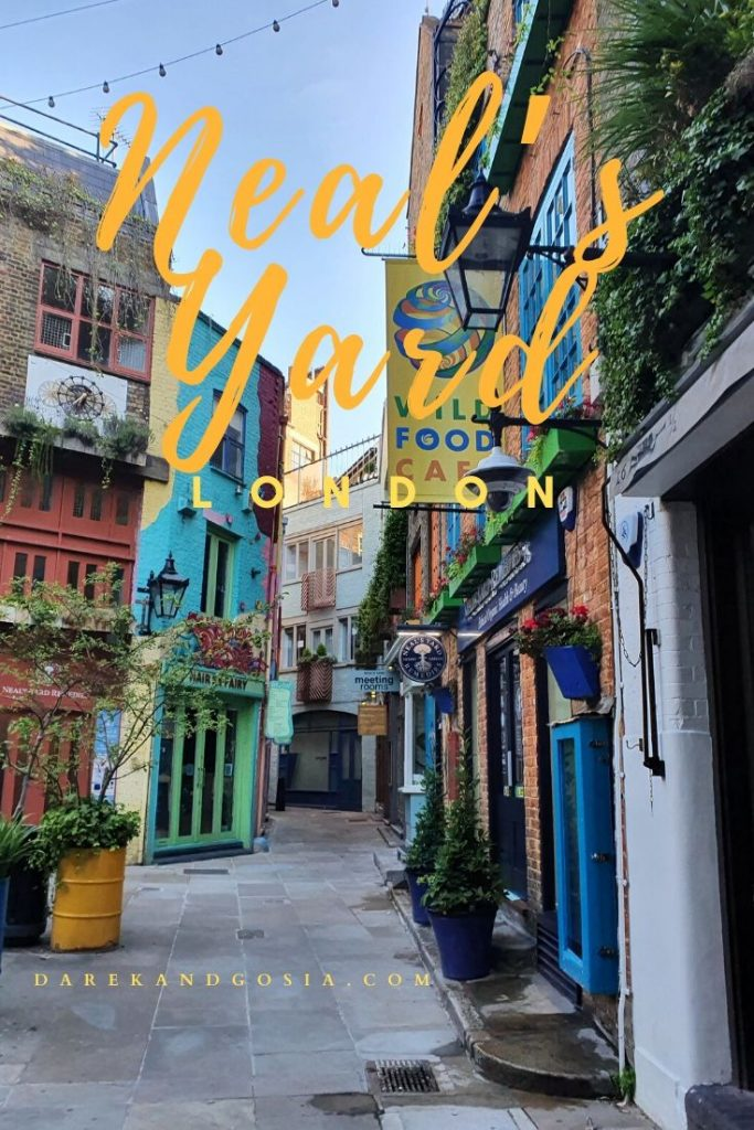 Neal's Yard Covent Garden, London